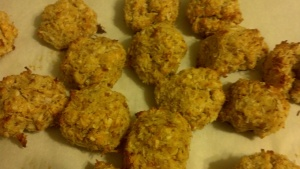 Almond-coconut macaroons